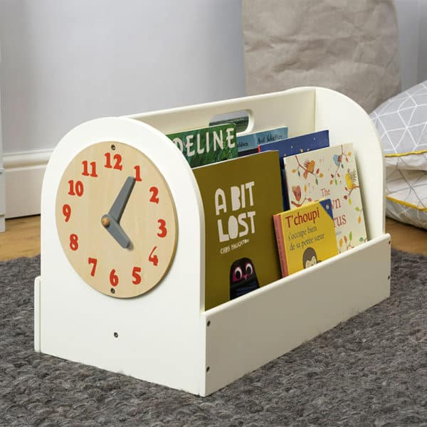 tidy books box, childrens, book, storage, boxes, tidy books, children´s book storage, book storage, kids book storage, book box, wooden, portable book box, book caddy, book rack